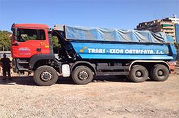 camiones construccion