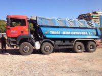 Camiones de la construcción